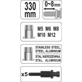 YT-3612 Alicate de rebitar de YATO ferramentas de qualidade