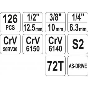 YT-38875 Werkzeugsatz von YATO Qualitäts Werkzeuge