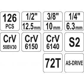 YT-38875 Kit de herramientas de YATO herramientas de calidad