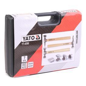 YT-4590 Zestaw młotków do prostowania blach karoserii od YATO narzędzia wysokiej jakości