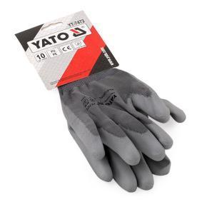 Beskyttelseshandsker til biler fra YATO: bestil online