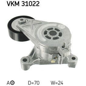 SKF Spannrolle Keilrippenriemen (VKM 31022)
