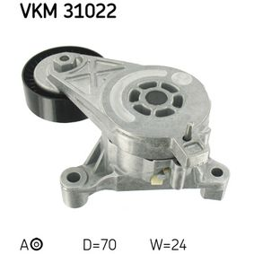 SKF Spannrolle, Keilrippenriemen (VKM 31022) niedriger Preis