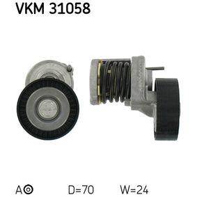 SKF Napinaci kladka, zebrovany klinovy remen (VKM 31058)