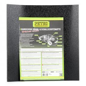 Protihlukový koberec pro auta od PETEC: objednejte si online