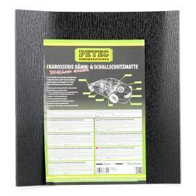 Αντιθορυβικό πατάκι για αυτοκίνητα της PETEC GmbH: παραγγείλτε ηλεκτρονικά