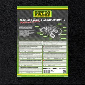 Geluiddempende mat voor auto van PETEC GmbH: voordelig geprijsd