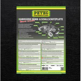 Geluiddempende mat voor auto van PETEC: voordelig geprijsd