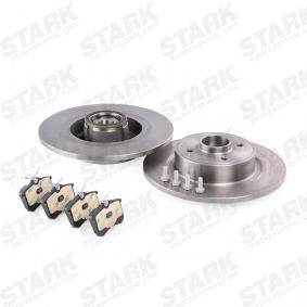 STARK SKBK-1090357 Kit frenos, freno de disco OEM - 1JD698451A SKODA, VW, VAG, MINTEX, SATURN, VW (FAW), VW (SVW), SKODA (SVW) a buen precio