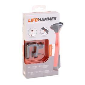 Młotek do awaryjnego zbijania szyb do samochodów marki LifeHammer: zamów online