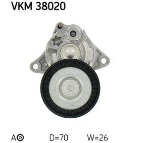 SKF Spannrolle, Keilrippenriemen (VKM 38020) niedriger Preis