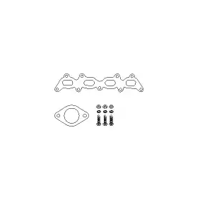 VEGAZ Catalytic converter mounting kit FTA-800