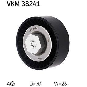 Spannrolle, Keilrippenriemen SKF (VKM 38241) für BMW X5 Preise
