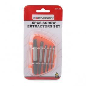 NE00403 Kit de extractores de pernos de ENERGY herramientas de calidad