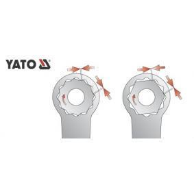 YT-0384 Podwójne klucze oczkowe od YATO narzędzia wysokiej jakości