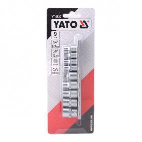 YT-0520 Socket Set from YATO quality car tools