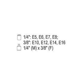 YATO Hylsnyckelsats (YT-0520) lågt pris