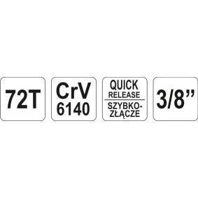 YT-0734 Umschaltknarre von YATO Qualitäts Werkzeuge