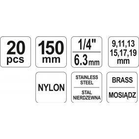 YATO Szczotka czyszcząca (YT-08195) w niskiej cenie