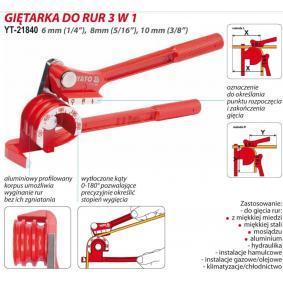 YATO Ferramenta de dobrar tubos (YT-21840) a baixo preço