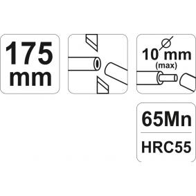 YATO Skaltång (YT-2268) lågt pris