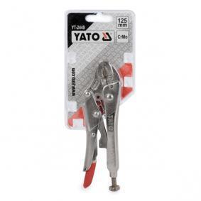 YT-2449 Cęgi zaciskowe od YATO narzędzia wysokiej jakości