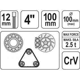 YATO Ściągacz wewnętrzny / zewnętrzny (YT-2520) w niskiej cenie