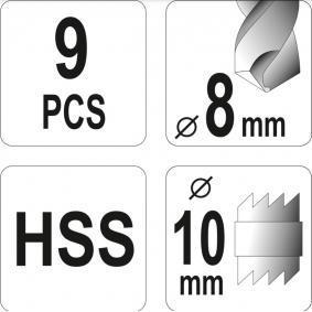 YT-28920 Juego de fresadoras de YATO herramientas de calidad