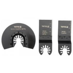 Kit discos abrasivos, lijadora múltiple YT-34691 YATO