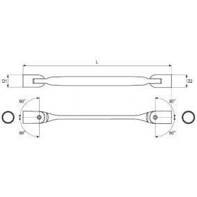 YATO Doppel-Ringschlüssel YT-4965 Online Shop