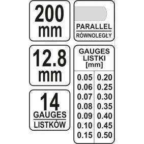 YT-7223 Fühlerlehre von YATO Qualitäts Werkzeuge