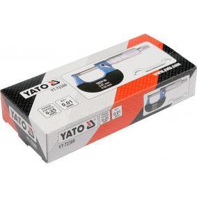 YT-72300 Mikrometr kabłąkowy od YATO narzędzia wysokiej jakości