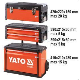 Carro de ferramenta de YATO YT-09101 24 horas