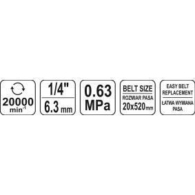 YT-09742 Smerigliatrice a nastro di YATO attrezzi di qualità