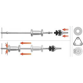 YT-2539 Juego de martillos deslizantes de YATO herramientas de calidad