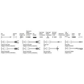 YATO Serie di estrattori a percussione YT-2539 negozio online