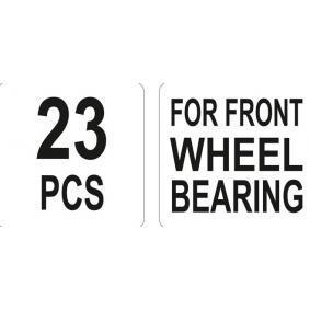 YT-2541 Kit attrezzi montaggio, Mozzo / Cuscinetto ruota di YATO attrezzi di qualità