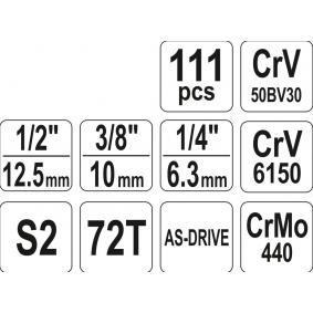 YT-38831 Kit de herramientas de YATO herramientas de calidad