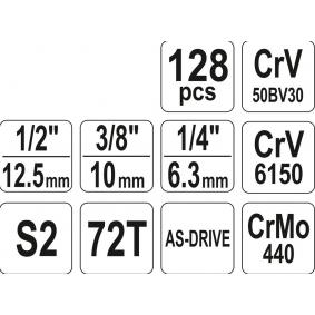 YATO Kit de herramientas YT-38872 tienda online