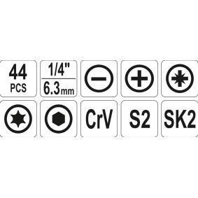 Kit de herramientas de YATO YT-39280 en línea