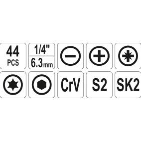 Kit attrezzi di YATO YT-39280 on-line