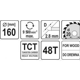 Trennscheibe, Winkelschleifer YT-6058 YATO