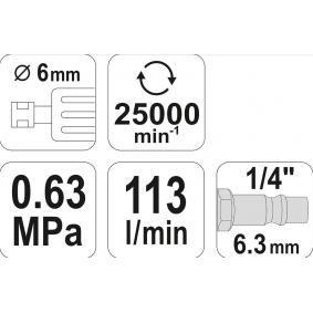 YATO Tycova bruska (YT-09632) za nízké ceny