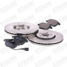 STARK SKBK-1090361 Bremsensatz, Scheibenbremse OEM - 6R0615301D AUDI, SEAT, SKODA, VW, VAG, VW (FAW), VW (SVW) günstig