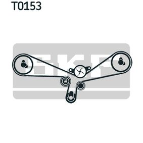 Zahnriemensatz SKF Art.No - VKMA 01927 OEM: 077109244C für VW, AUDI, SKODA, SEAT, PORSCHE kaufen