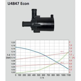 WEBASTO Vodní cirkulační čerpadlo, nezávislé vytápění (9002514B)