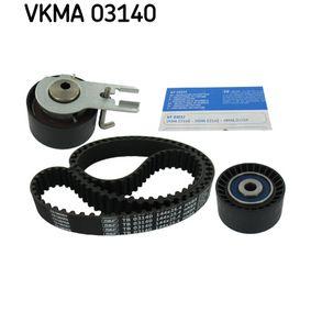 Zahnriemensatz SKF Art.No - VKMA 03140 OEM: 0816E4 für PEUGEOT, MAZDA, CITROЁN, PIAGGIO, TVR kaufen