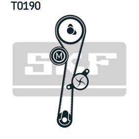 Zahnriemensatz (VKMA 06002) hertseller SKF für RENAULT TWINGO II (CN0_) ab Baujahr 02.2011, 102 PS Online-Shop