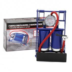 Foot pump for cars from CARCOMMERCE: order online