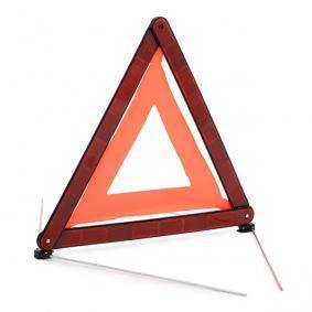 Triangle d'avertissement CARCOMMERCE pour voitures à commander en ligne